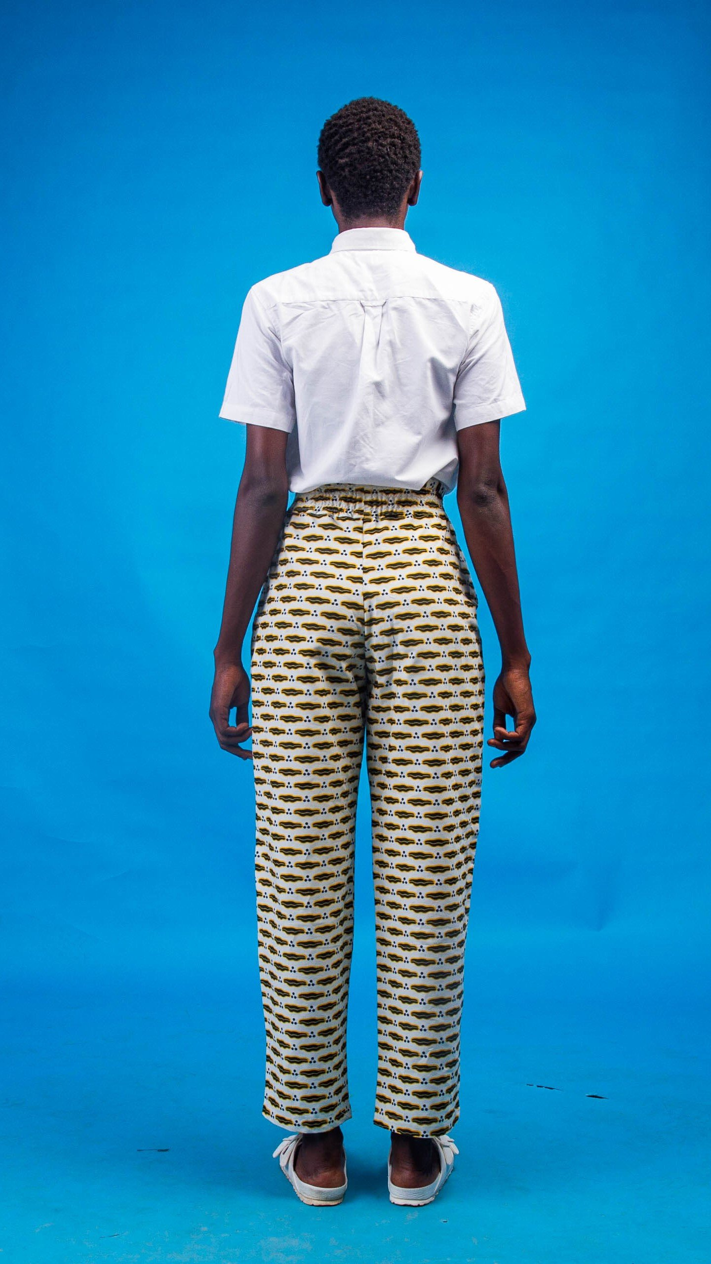 Salome African Print Trouser from Atelier D'Afrique