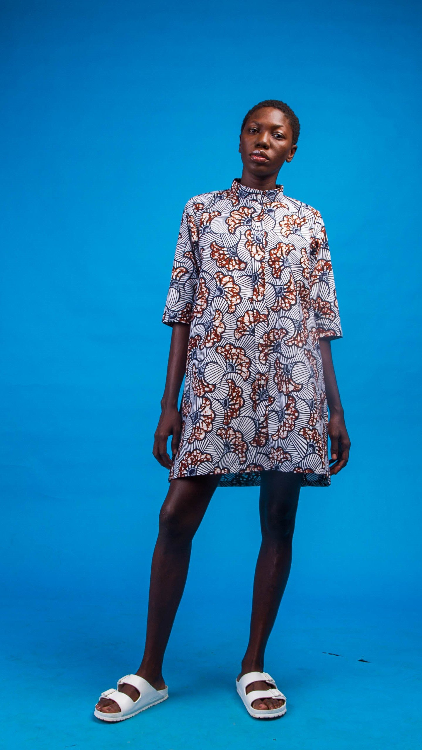 Ama African Print Shirtdress from Atelier D'Afrique