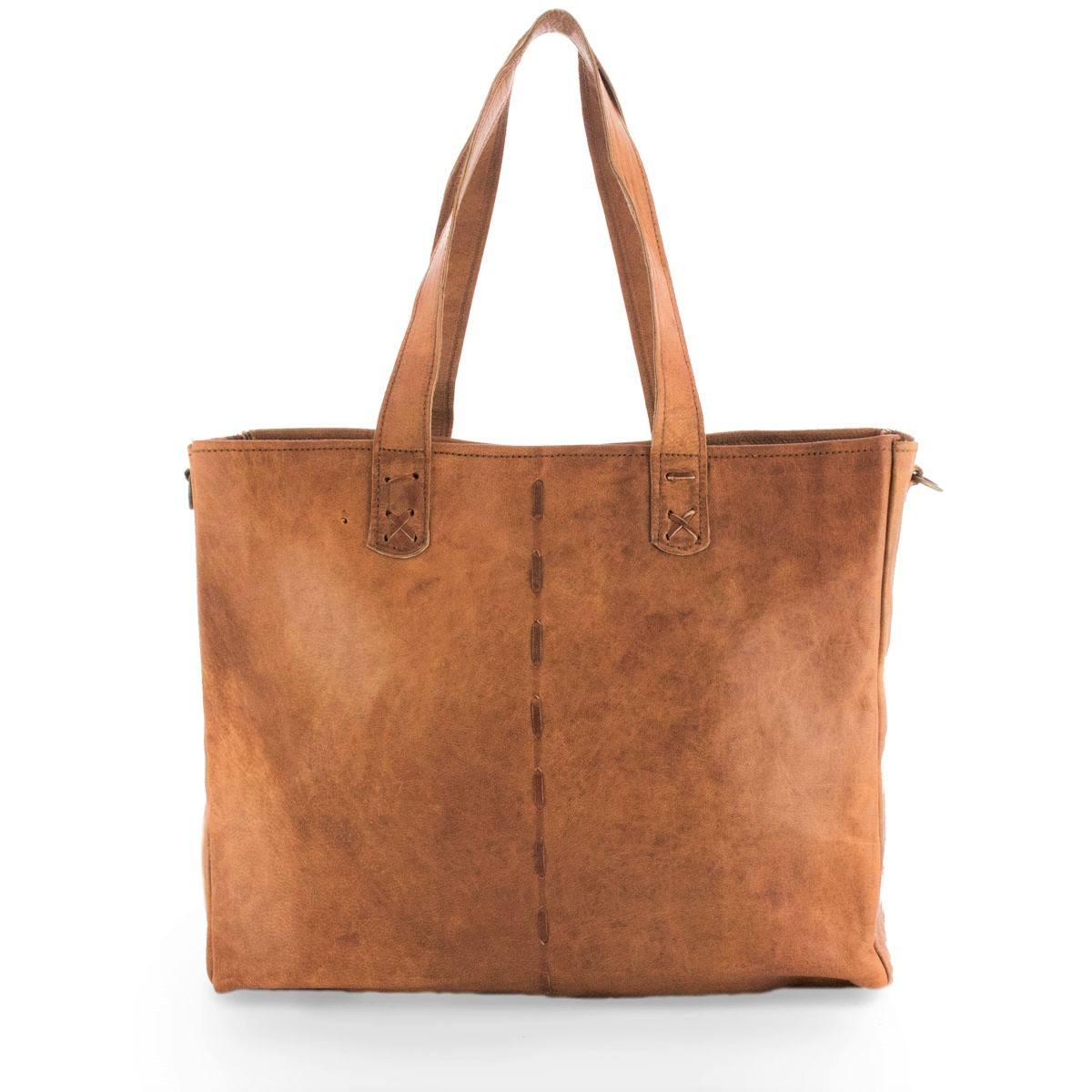 Ganesha Leren Shopper from Bagoa