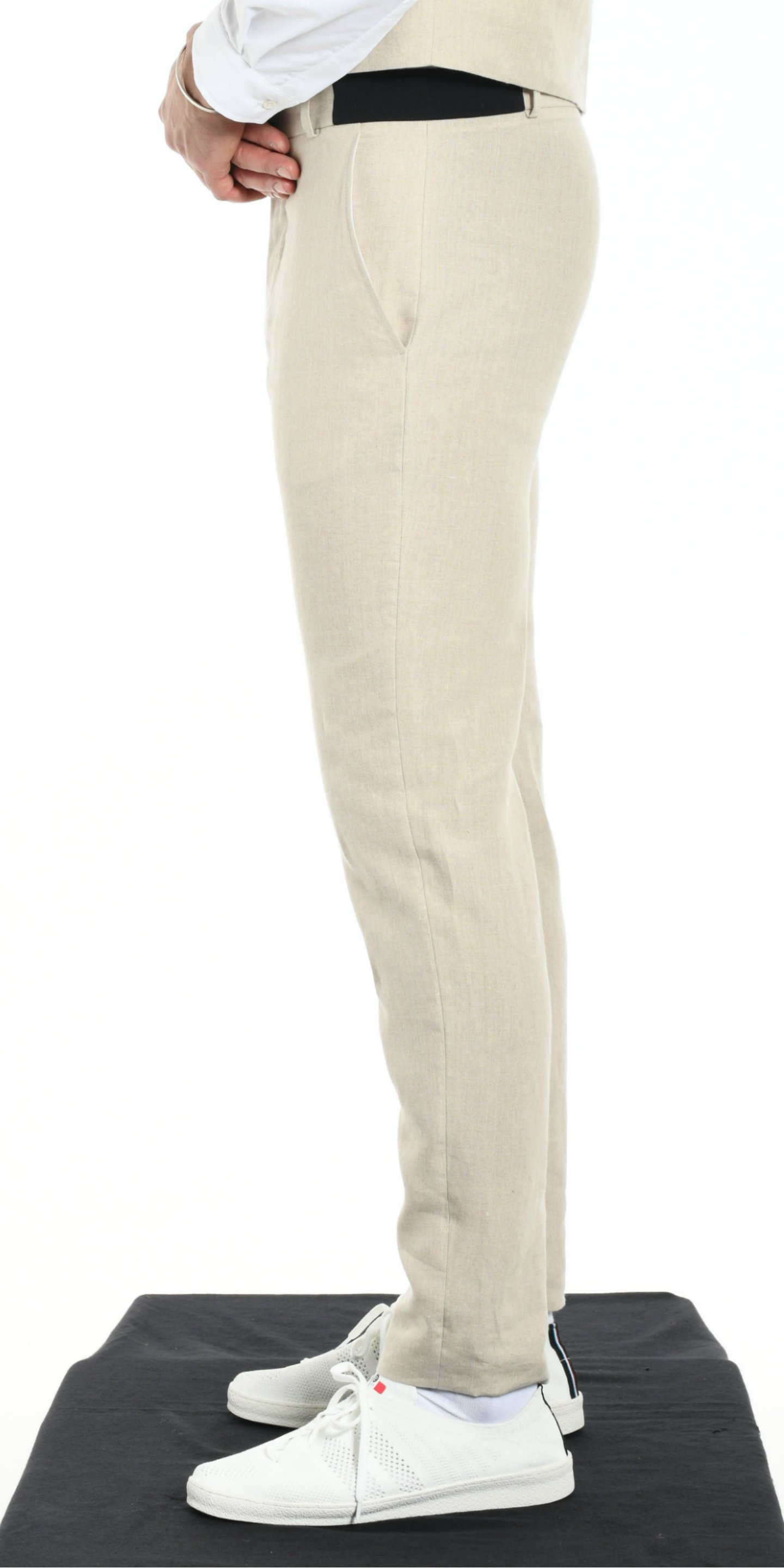 TROUSERS BEIGE from BEARD & FRINGE