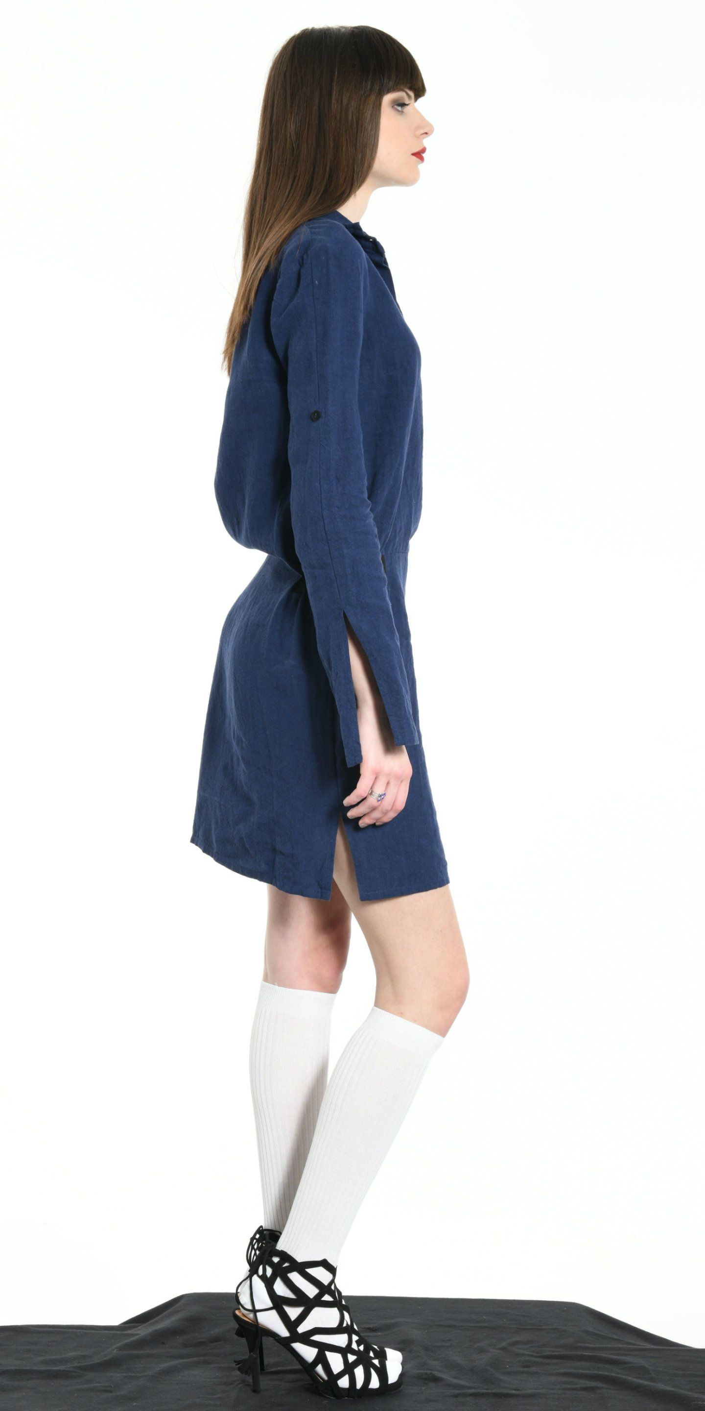 SHORT DRESS BLUE from BEARD & FRINGE