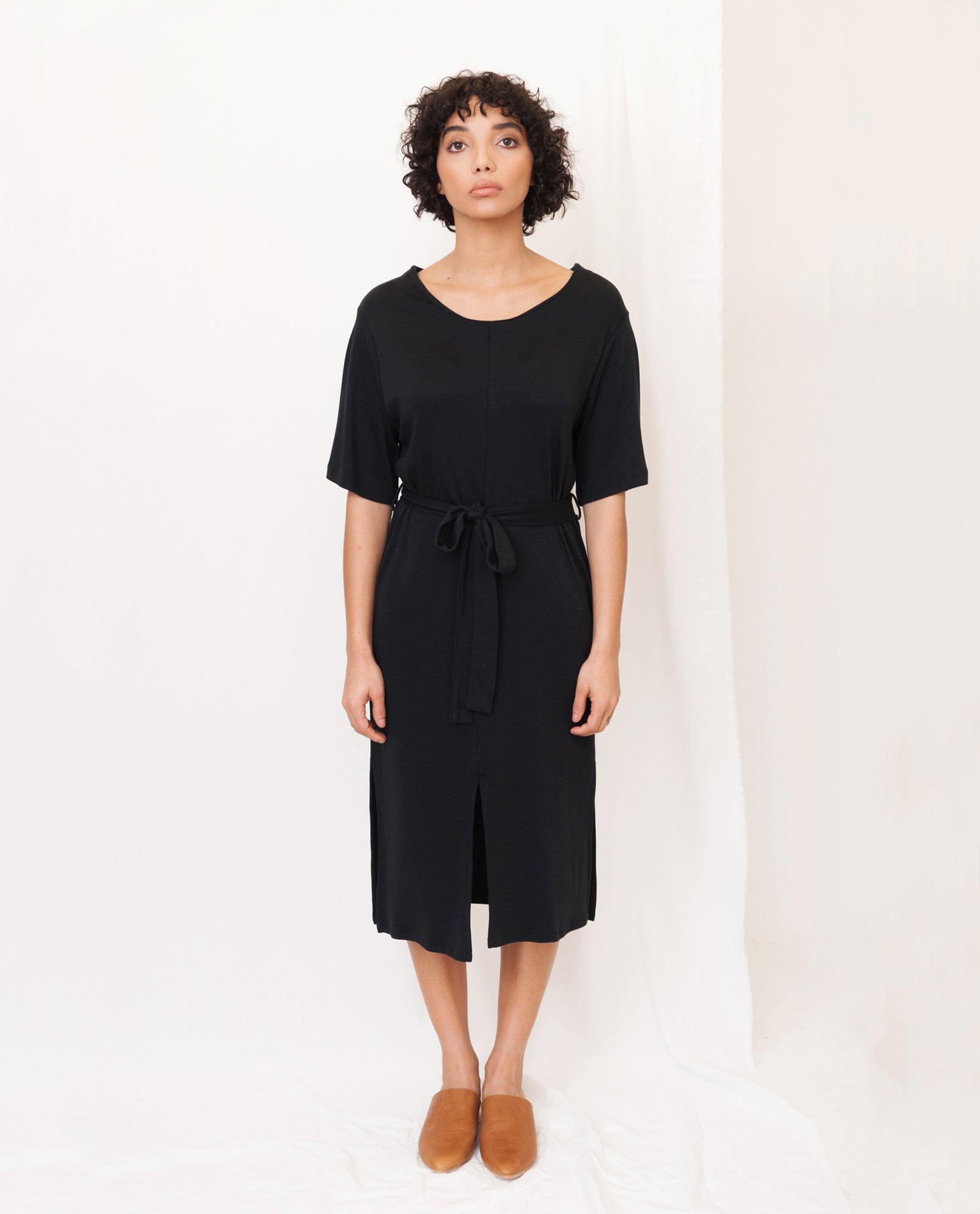 JULIET Lyocell Jersey Dress from Beaumont Organic