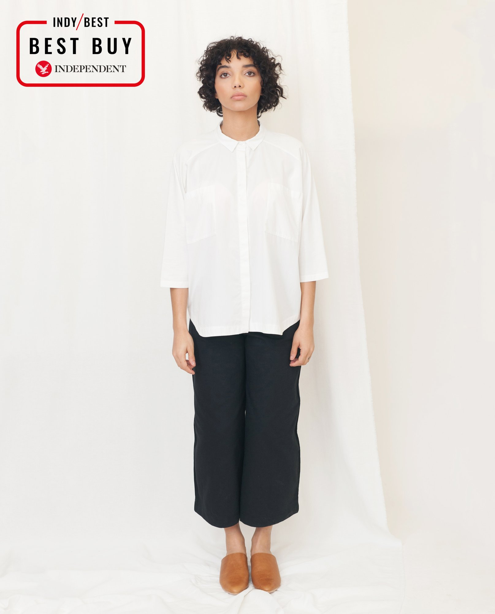 STEPHANIE Organic Cotton Shirt from Beaumont Organic