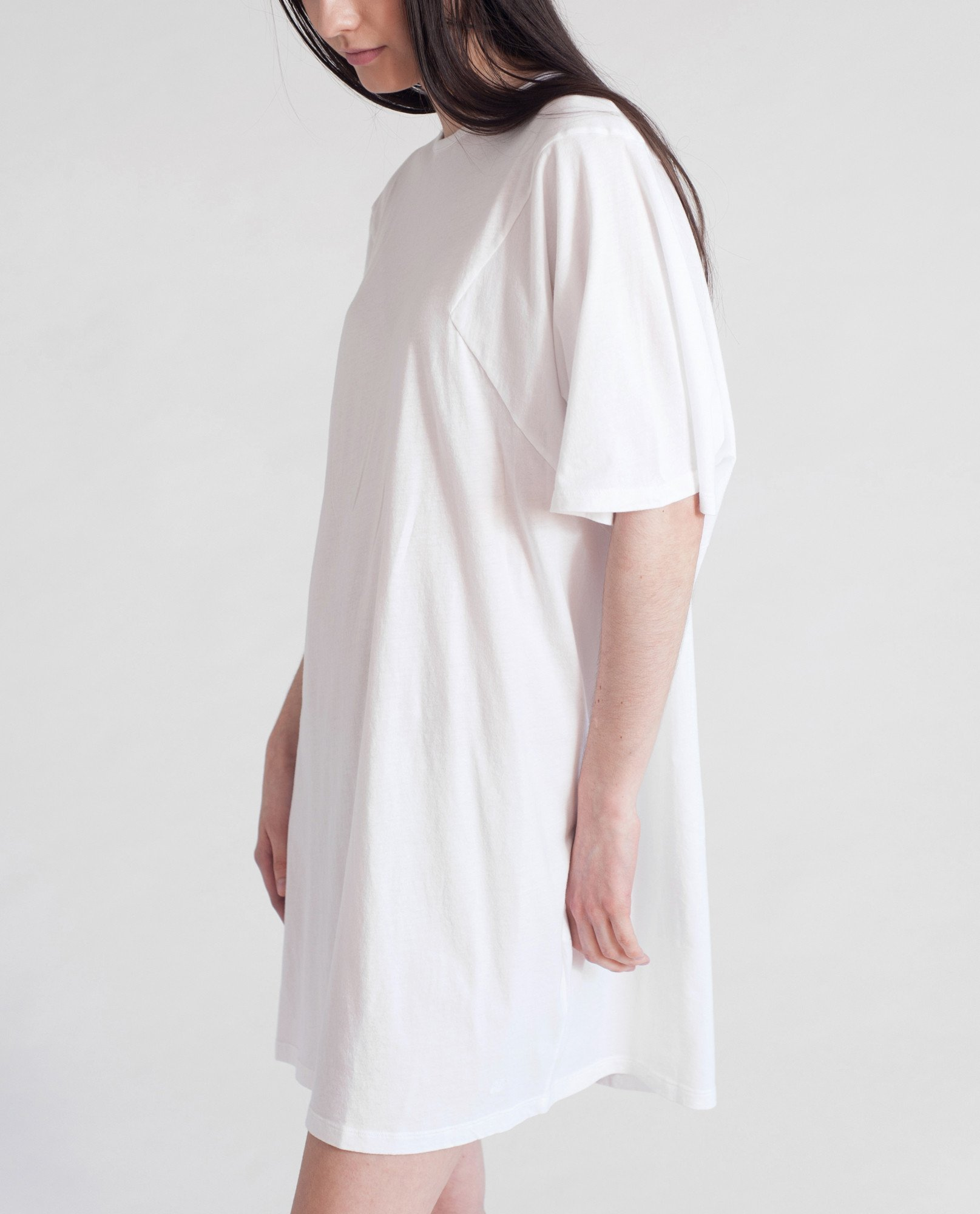 DAISY Organic Cotton Tshirt In White from Beaumont Organic