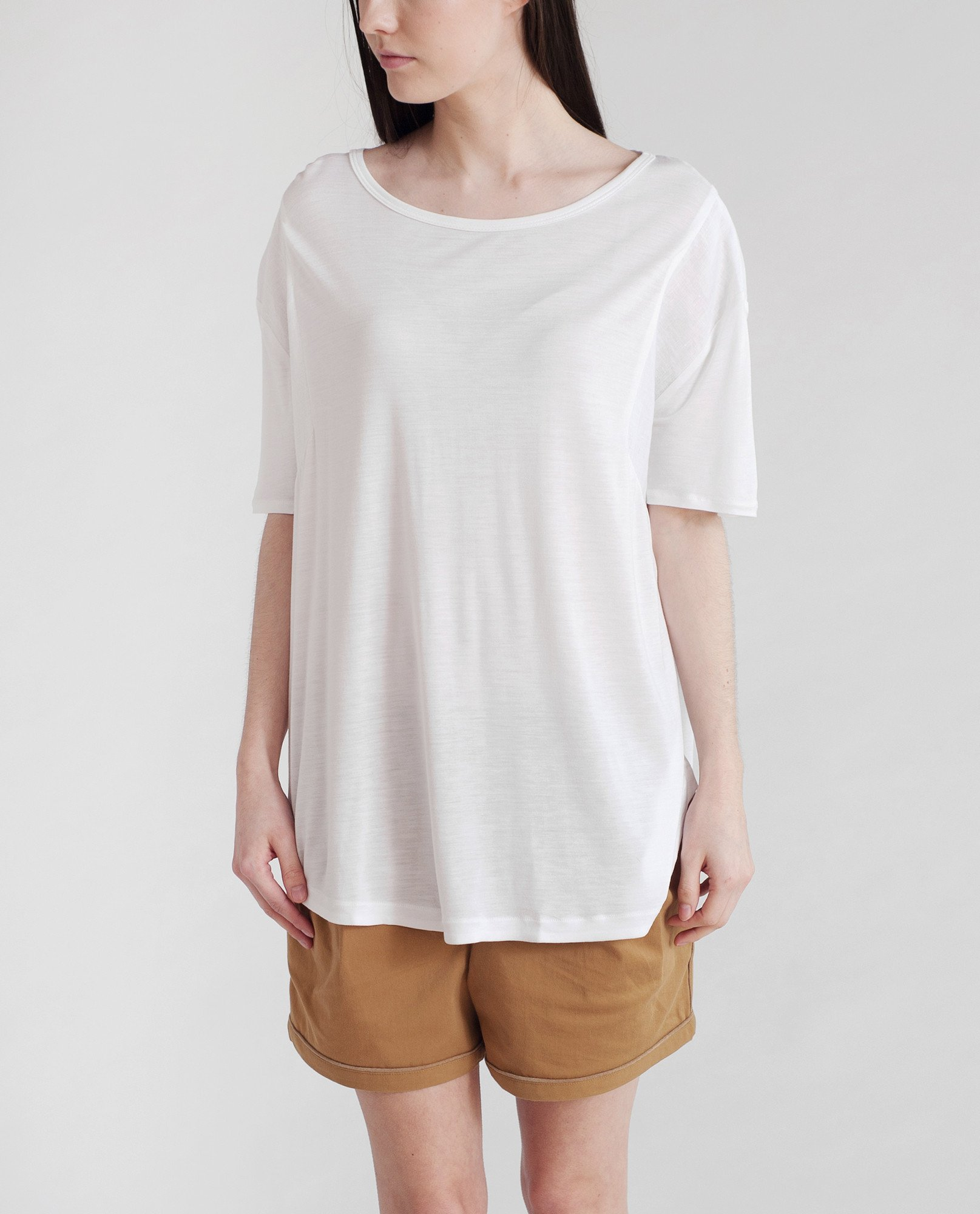 JACINTA Bamboo And Linen Top from Beaumont Organic