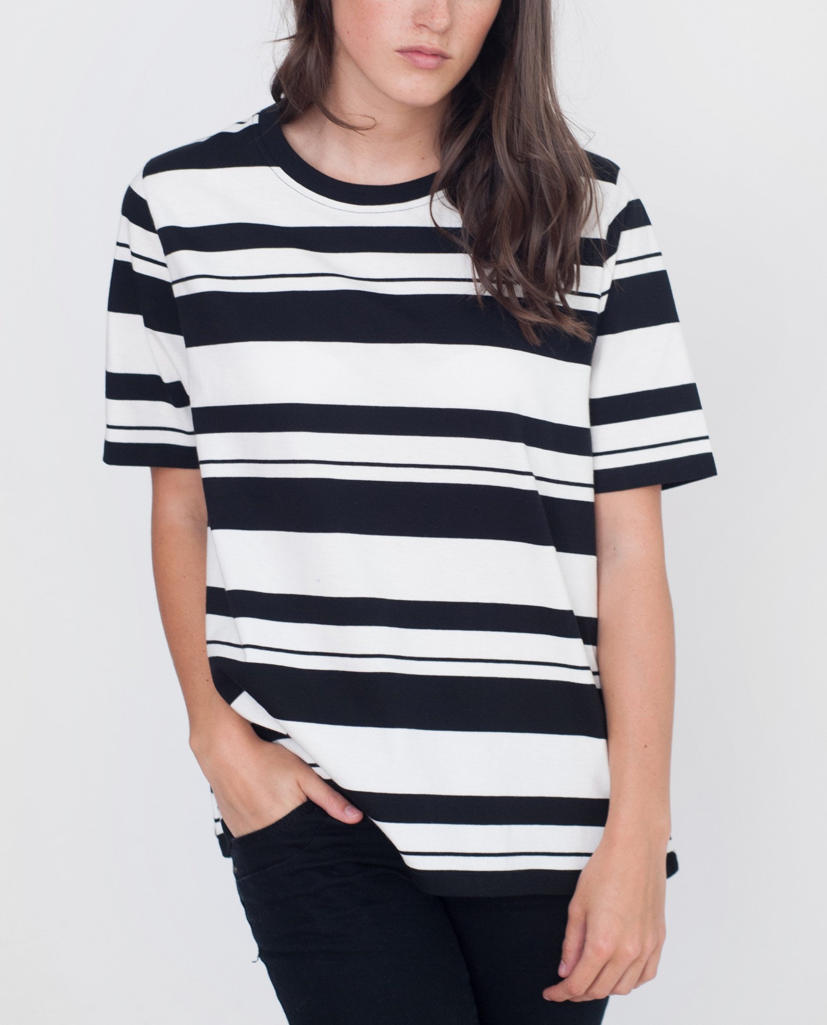 ANNIE Organic Cotton Striped Tshirt from Beaumont Organic