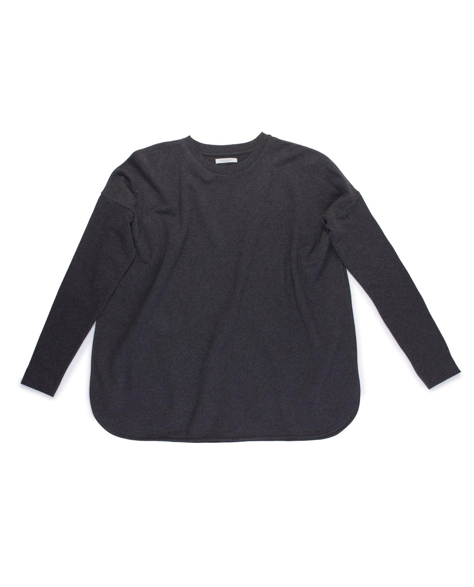 KATE Organic Cotton Sweatshirt In Dark Grey from Beaumont Organic