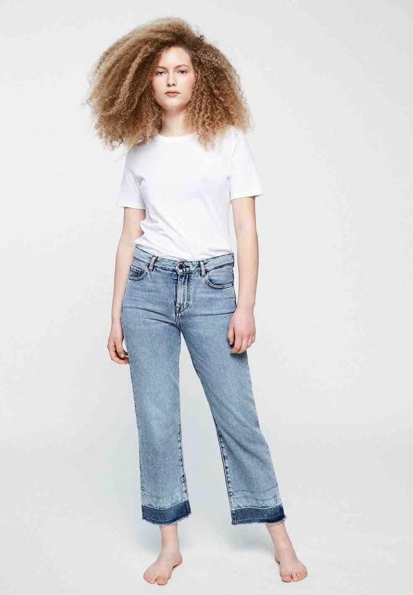 Galina frayed jeans - stone wash from Brand Mission