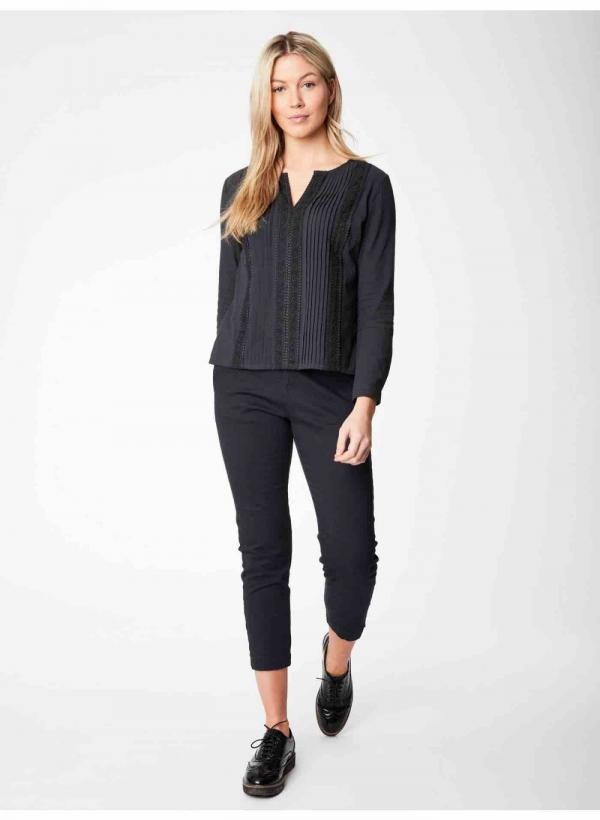 Rozalie blouse - antraciet from Brand Mission