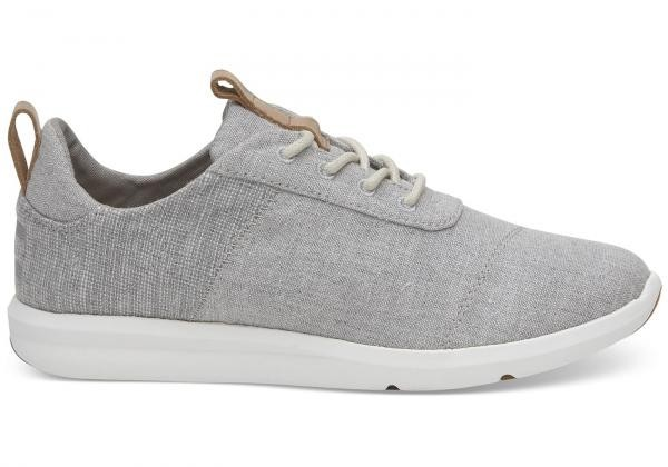 Cabrillo sneaker - grey chambray from Brand Mission