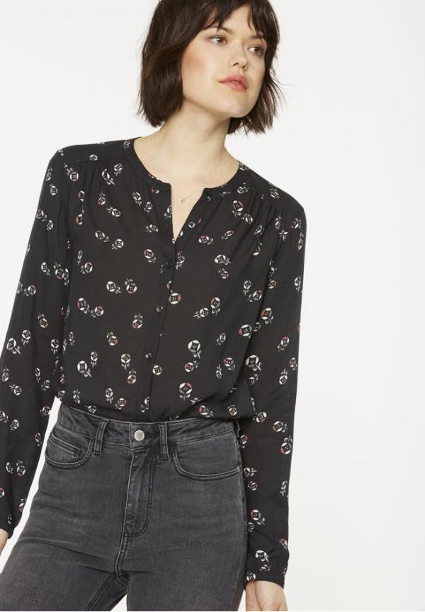 Alka blouse roos - zwart from Brand Mission
