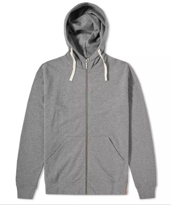 Elvin zip hoodie - grijs from Brand Mission