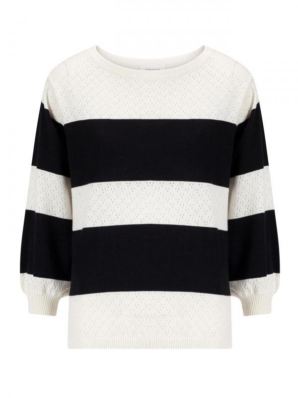 Noor trui - zwart wit from Brand Mission