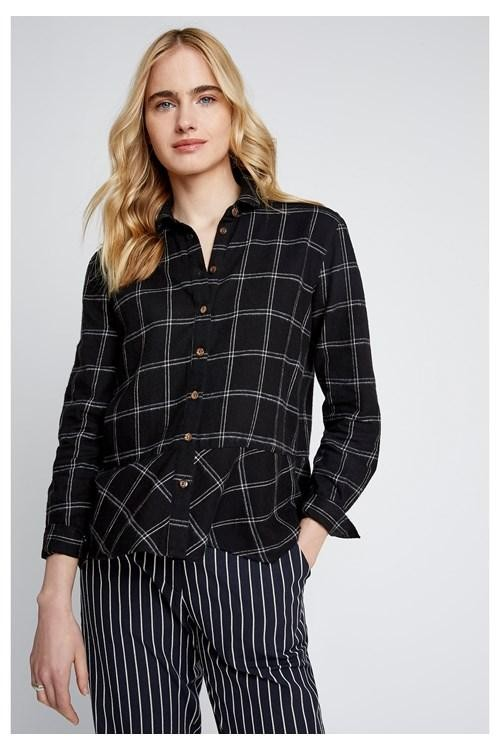 Annemarie blouse - ruit from Brand Mission