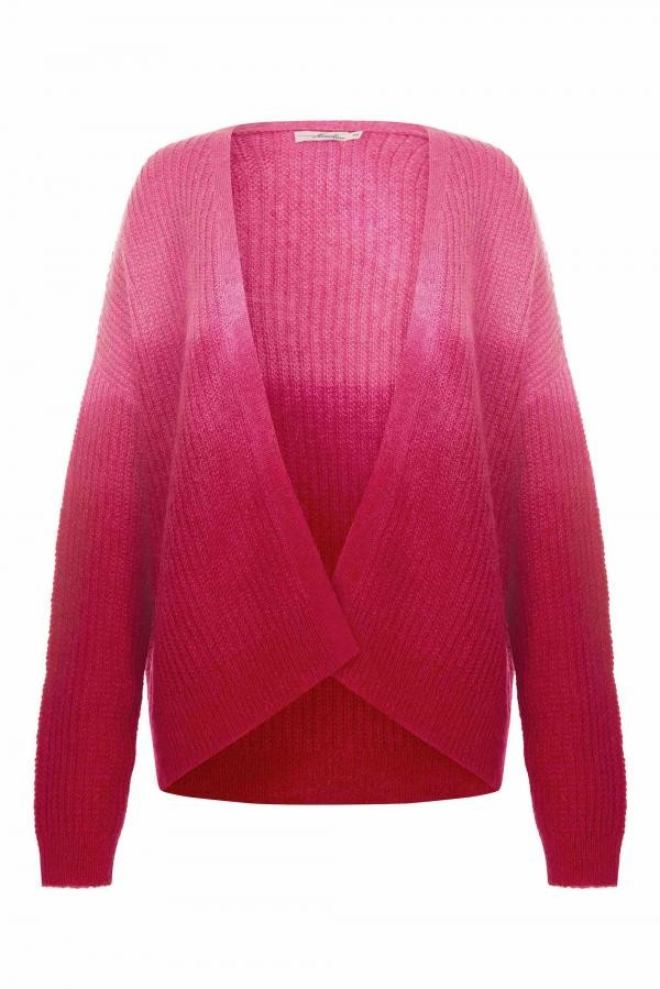 Elle vest dip dye - cherry rood from Brand Mission