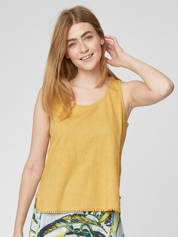 Florianna top - geel from Brand Mission