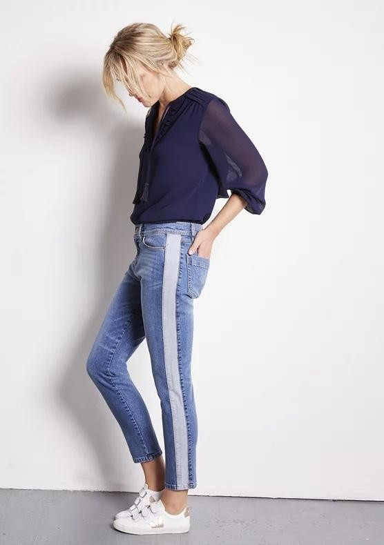 Gabriel 7/8 jeans - denim light from Brand Mission
