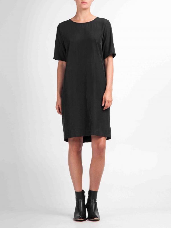 Tencel jurk - zwart from Brand Mission