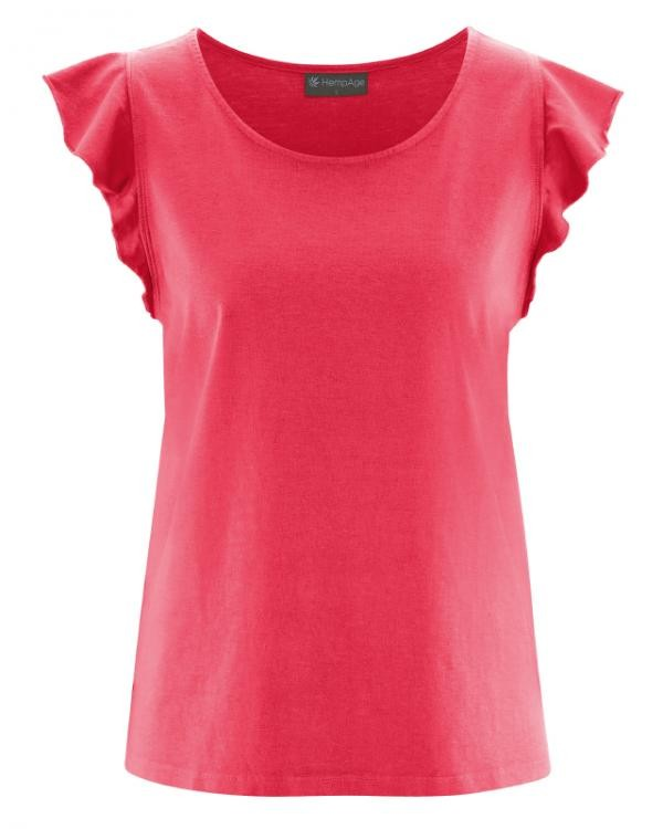 Top ruches - roze rood from Brand Mission
