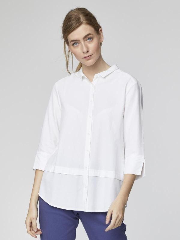 Quin blouse - wit from Brand Mission