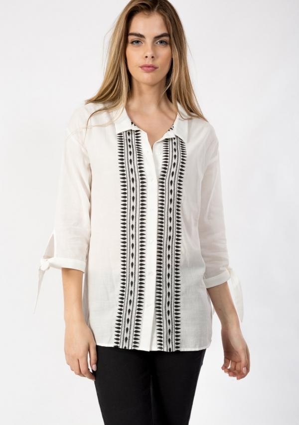 Thelio blouse - offwhite from Brand Mission