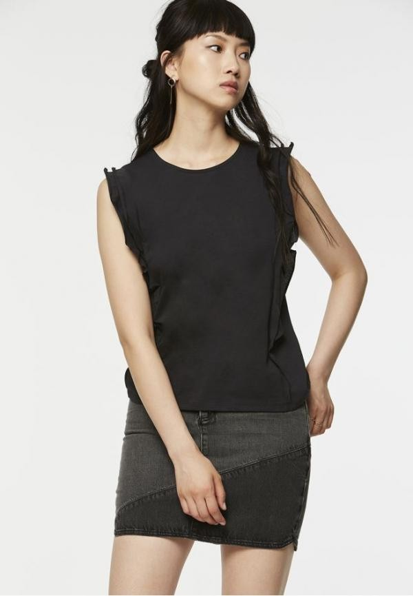 Rosa top - zwart from Brand Mission