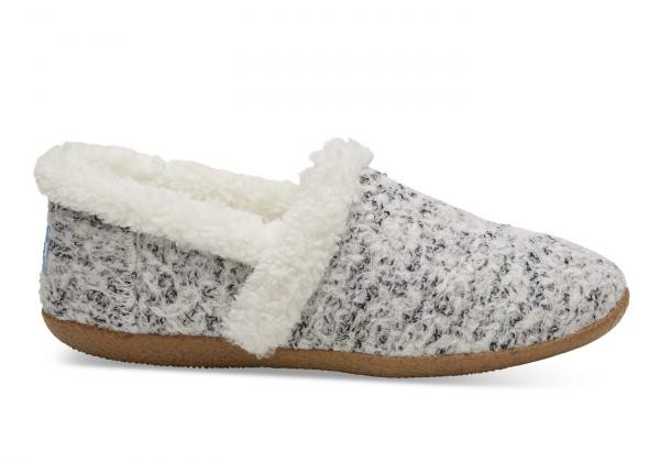 Pantoffels  - boucle zwart-wit from Brand Mission