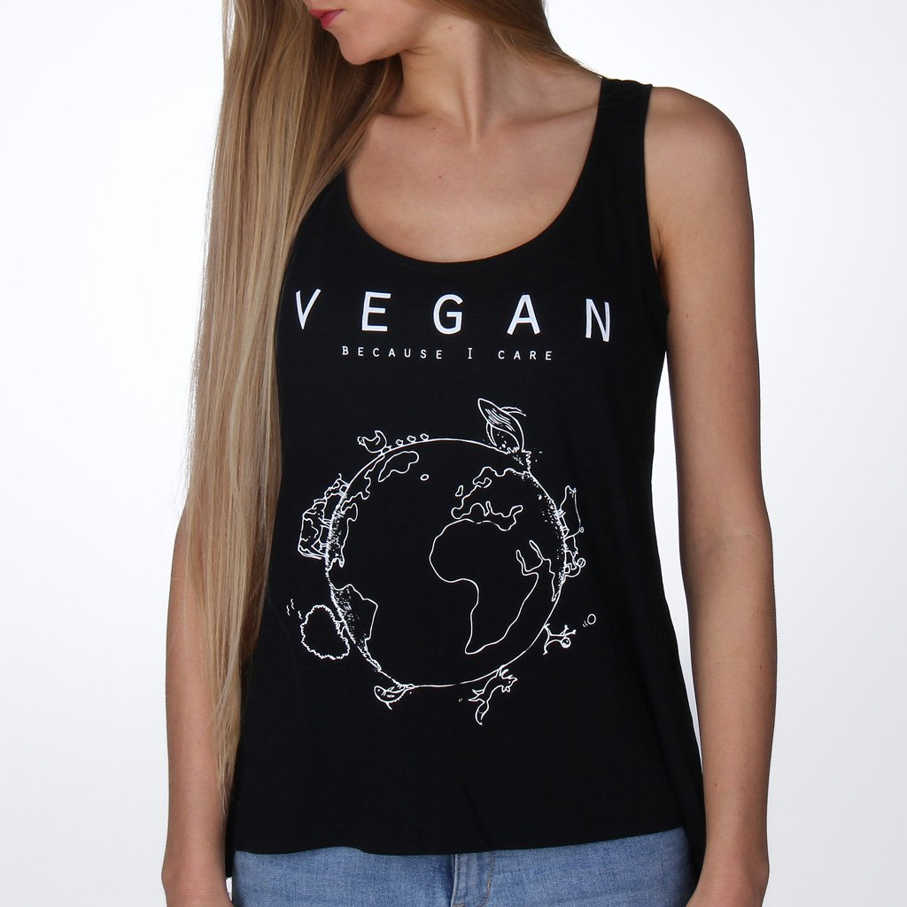 Vegan Planet (Care) - Tencel Top from By Monkey
