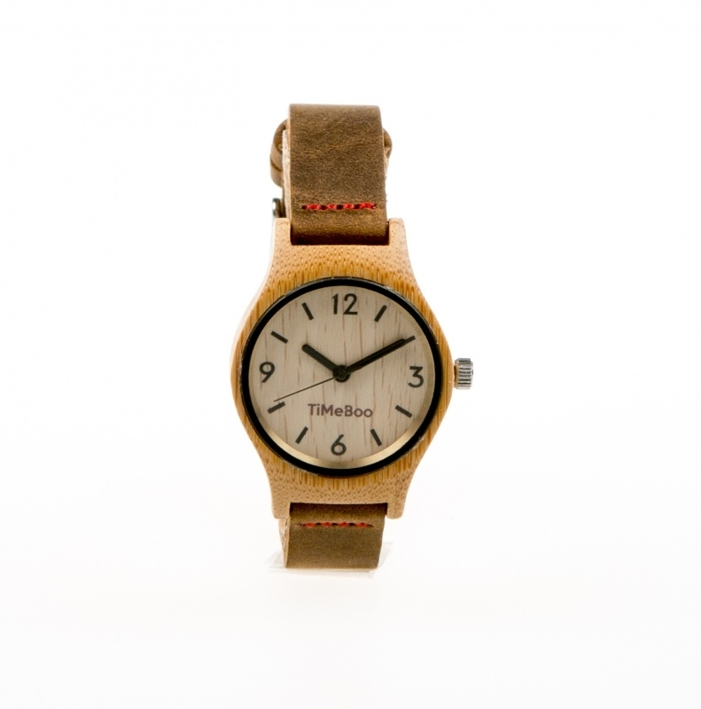 Bamboe horloge Small dames from CAYBOO