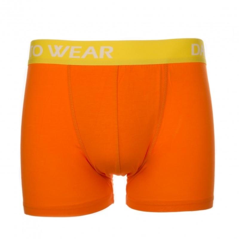 Bamboe boxershort oranje from CAYBOO