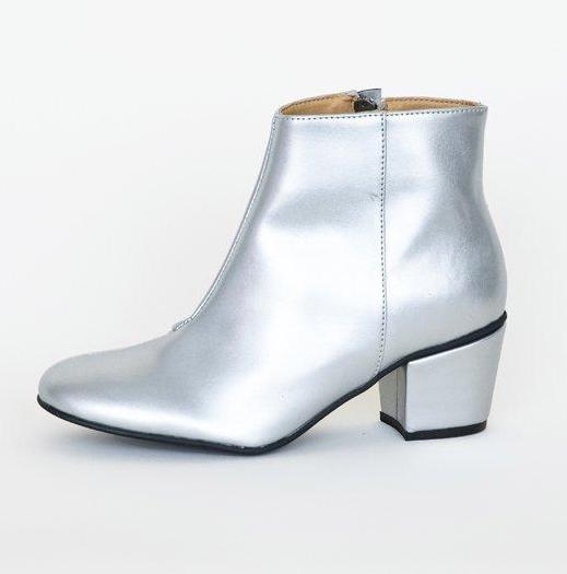Noah Boots Silver from Charlie + Mary