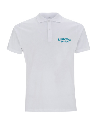 ChillFish Design Basic Polo Wit from ChillFish Design