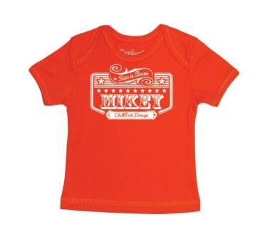 Rockstar Baby T-shirt - Groen from ChillFish Design