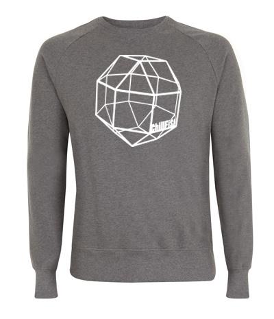 Romboëdrisch Kuboctaëder Sweater from ChillFish Design