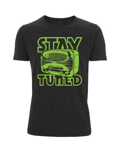 Stay Tuned T-shirt from ChillFish Design