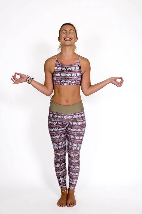 Surf & Yoga Legging   OLIVE from CURMS