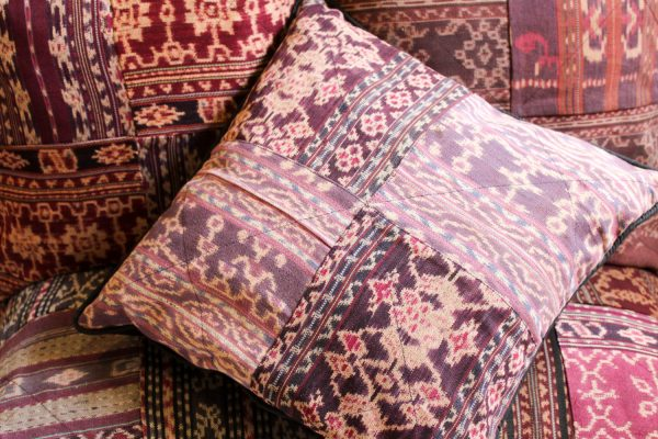 Ikat pillow from CURMS