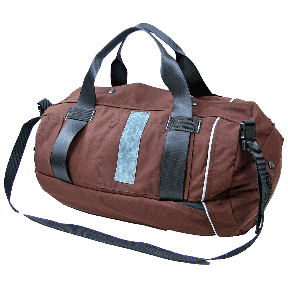 Travel bag bruin - Gerecycled from Dastoon