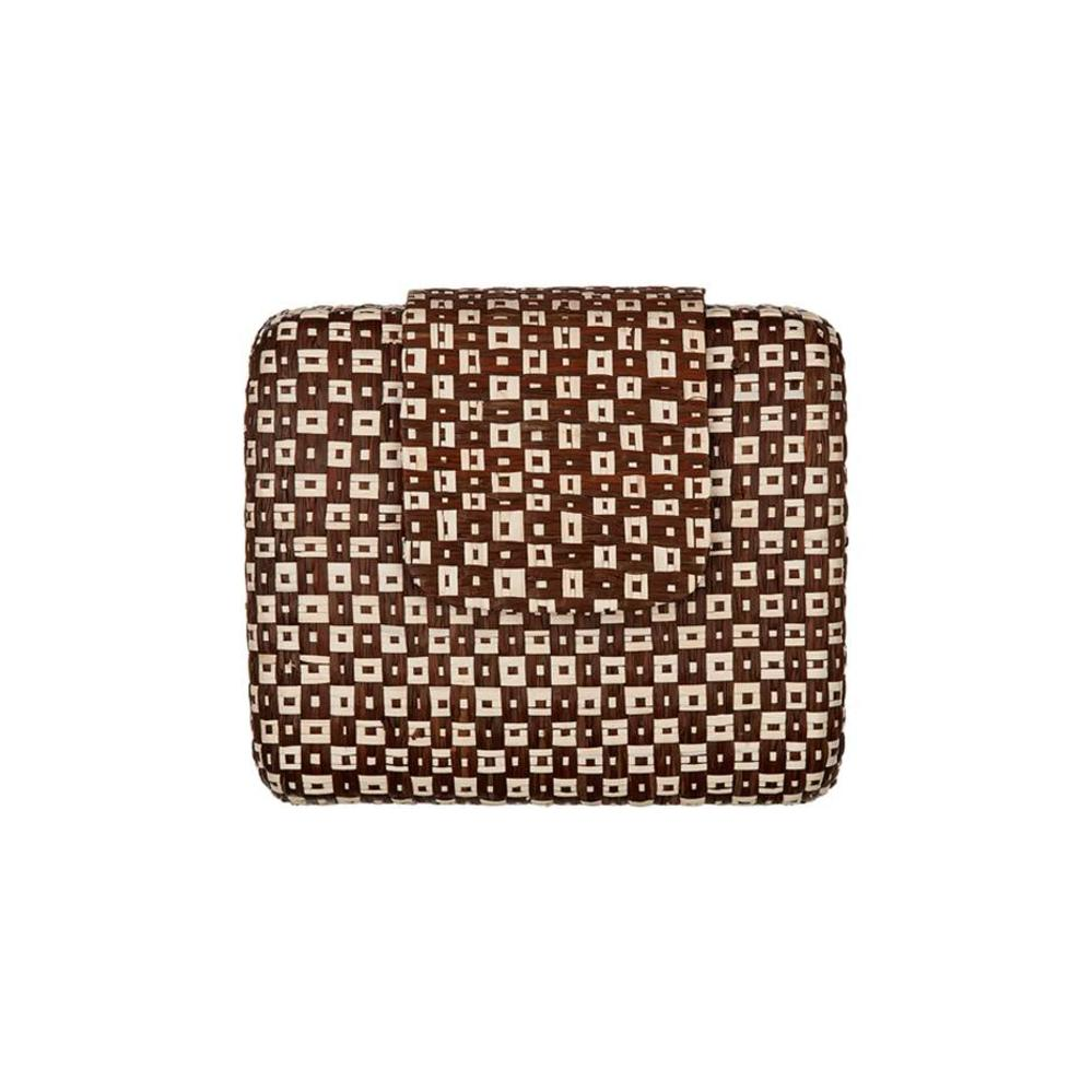 Marites Clutch Brown Cream from Disenyo