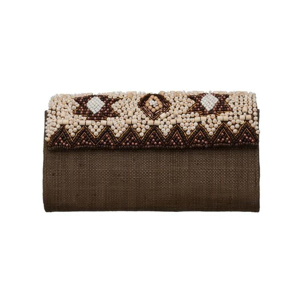 Dari Clutch Brown from Disenyo