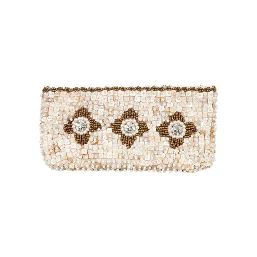 Babae Clutch Ivory Gold from Disenyo