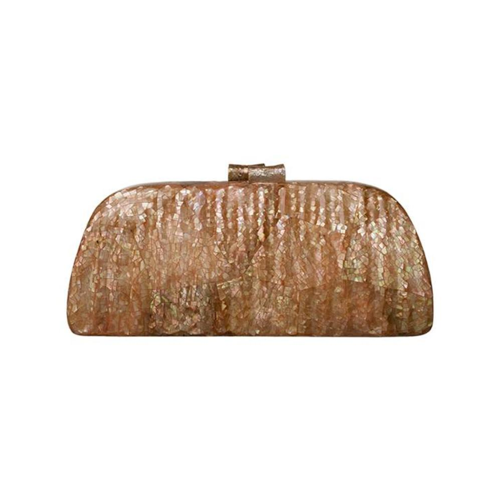 Alyssa Clutch Brown from Disenyo