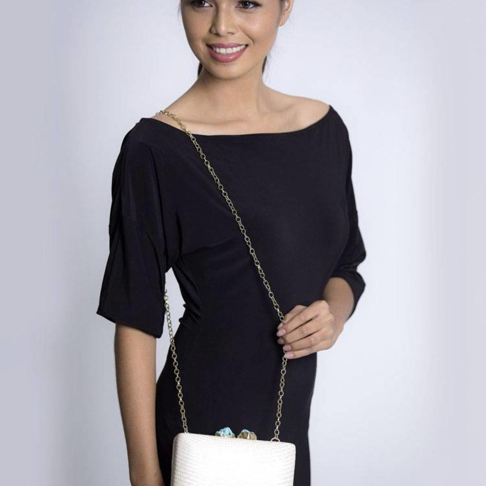 Deohala Clutch Ivory from Disenyo