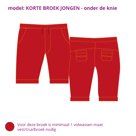 Korte broek from Dress en Les
