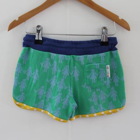 Hotpants stippeltje geel from Dress en Les