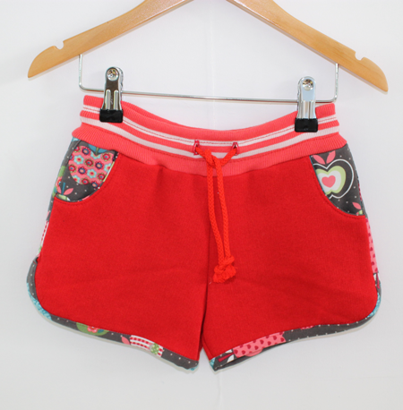 Hotpants rood from Dress en Les