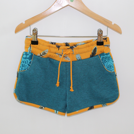 Hotpants veertje turquoise from Dress en Les
