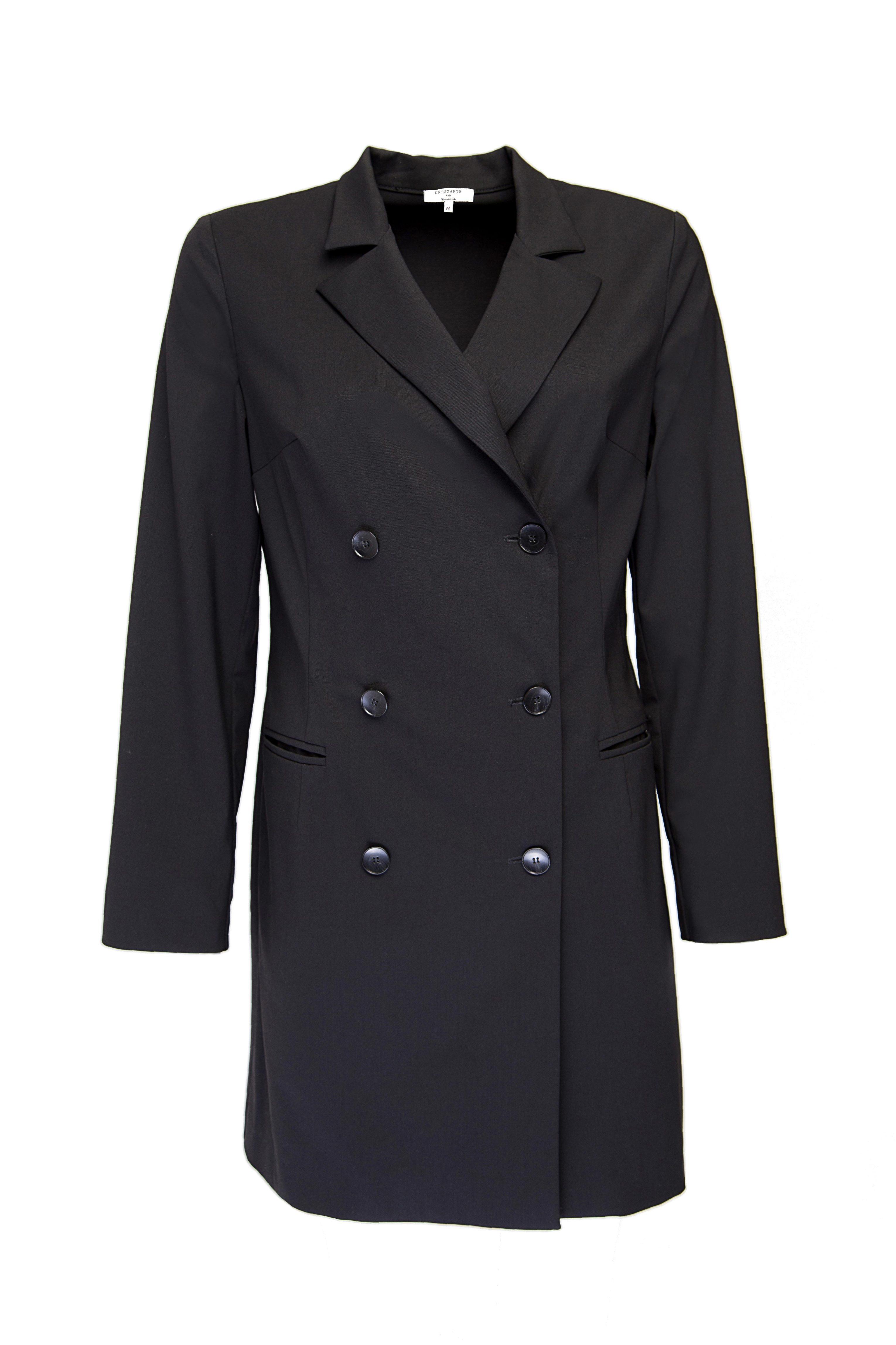 Double-breasted blazer dress from Dressarte Paris