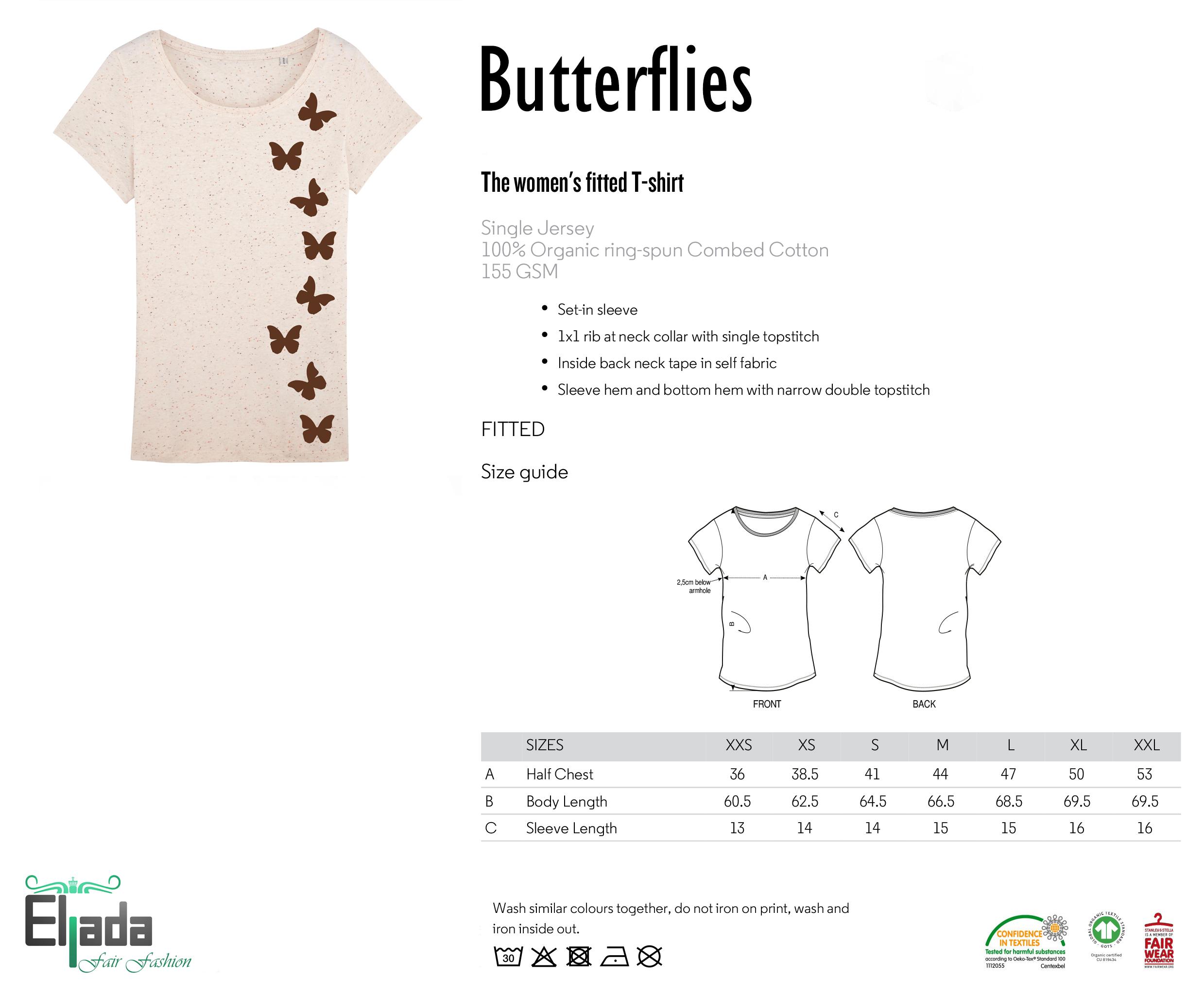 Butterflies – cream from Eljada