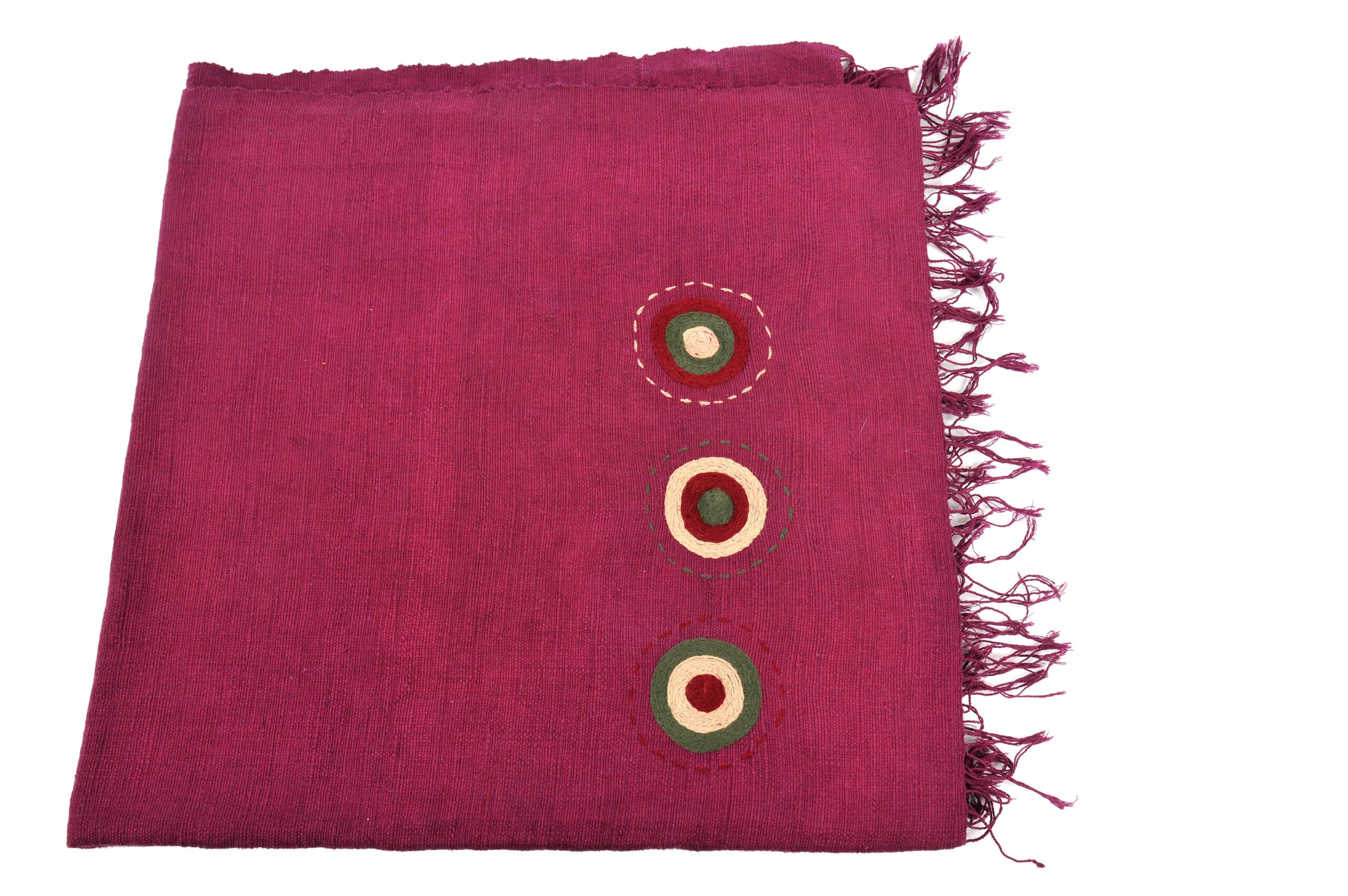 EthCrafted Selam Throw – Burgundy from EthCrafted Accessories
